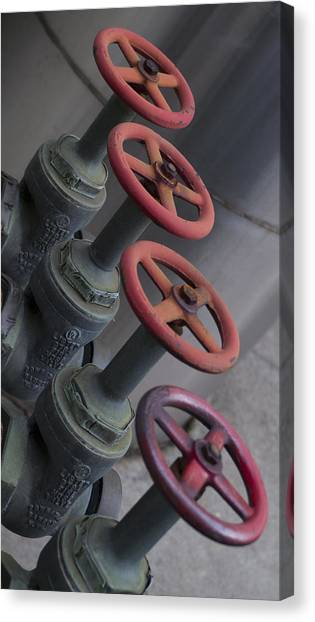 Valves Canvas Print