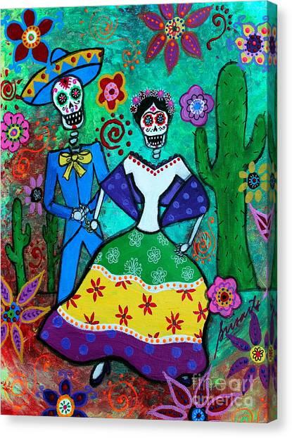 Vamos  A Bailar Canvas Print