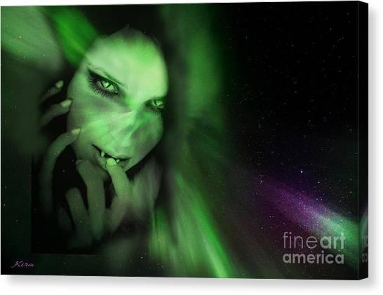 Vampire Nights Canvas Print