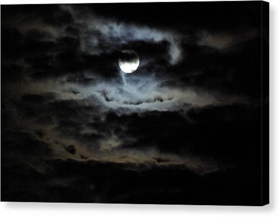 Canvas Print - Vampire Skies by Cindy Johnston