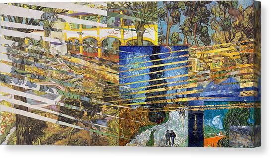 Van Gogh Mural Il Canvas Print