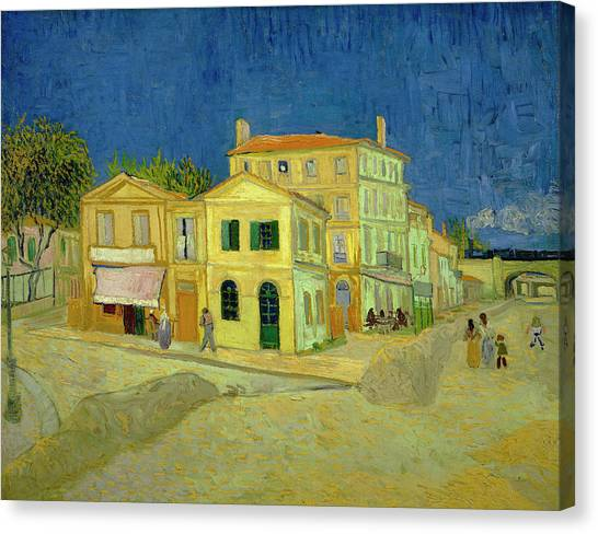 Van Gogh Yellow House Painting By Vincent Van Gogh
