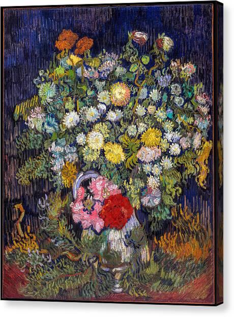 van Gogh's Vase          Canvas Print