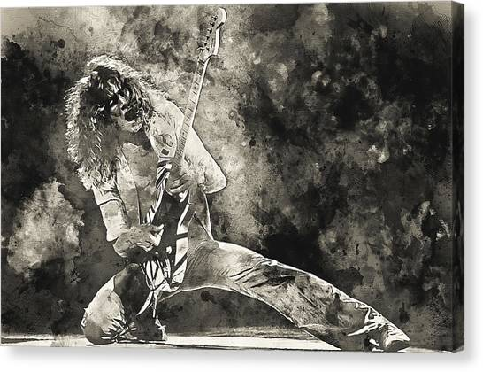 Van Halen - 09 Canvas Print