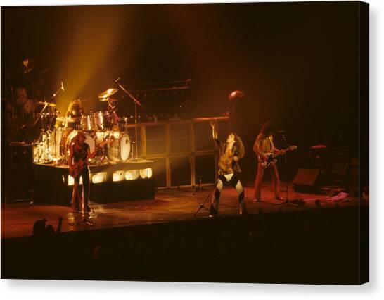 Van Halen Opening For Black Sabbath Canvas Print