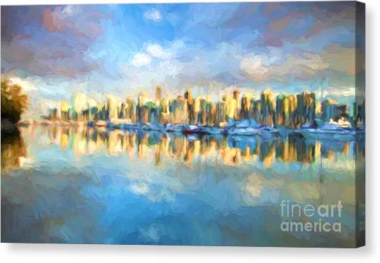 Vancouver City Canvas Print