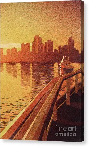 Vancouver Morning- Bc Canvas Print