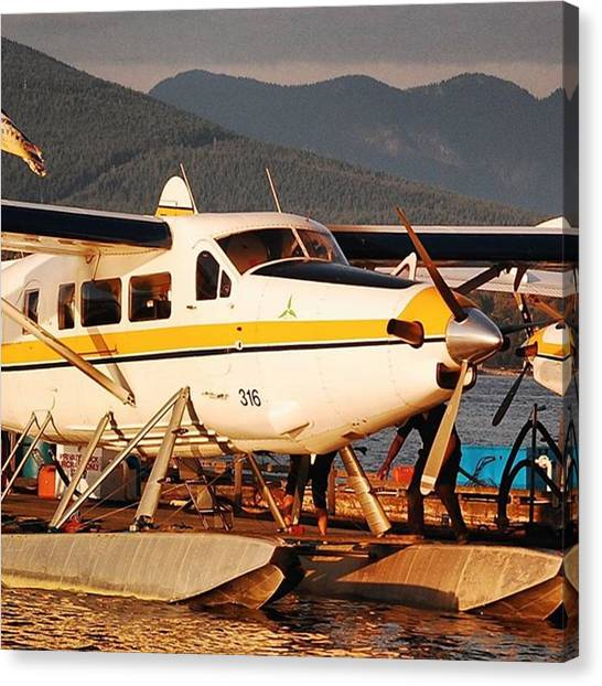Seaplanes Canvas Print - #vancouver #seaplane #travel #avgeek by Sven Hebel