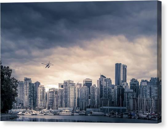 Vancouver Skyline Canvas Print - Vancouver Skyline by Art Spectrum
