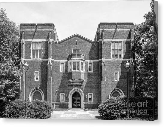 Al Gore Canvas Print - Vanderbilt University Neely Auditorium by University Icons
