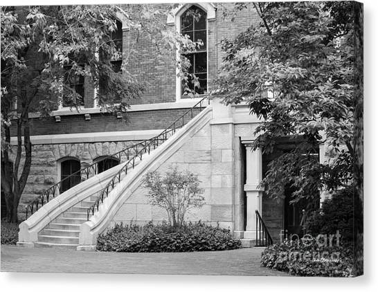 Al Gore Canvas Print - Vanderbilt University Stairway by University Icons