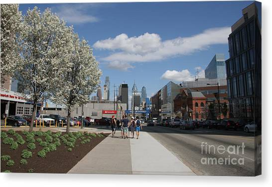 Drexel University Canvas Print - Vanishing Point by Clay Cofer
