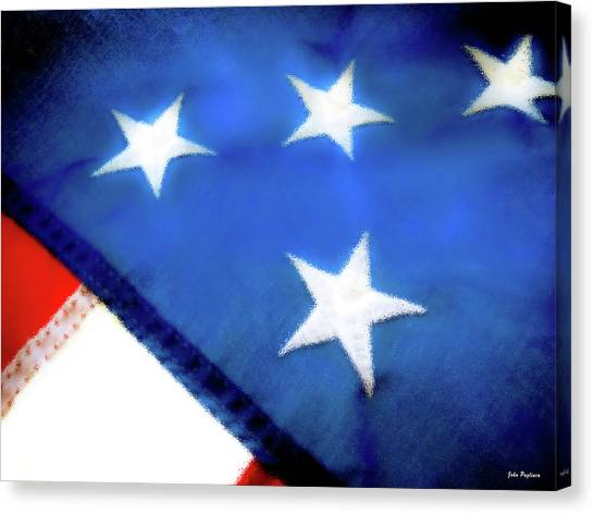 Variations On Old Glory No.6 Canvas Print