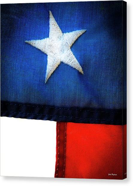 Variations On Old Glory No.7 Canvas Print