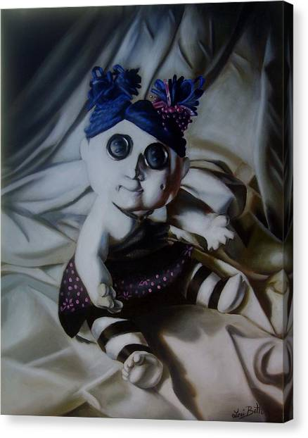 Vashler Baby Doll Canvas Print by Lori Keilwitz