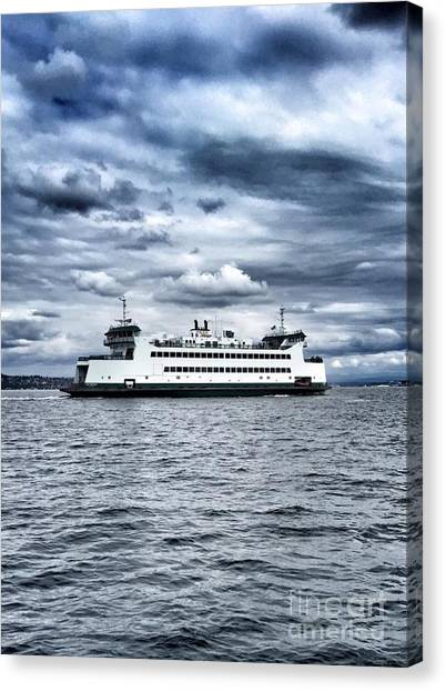 Vashon Island Ferry Canvas Print