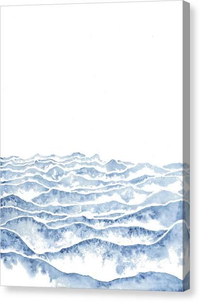 Coastal Canvas Print - Vast by Emily Magone