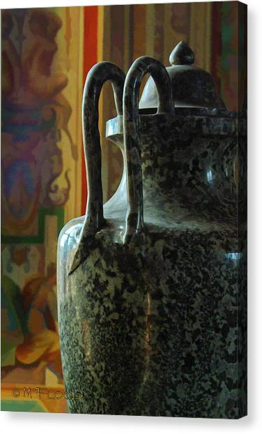 Vatican Ancient Jar Canvas Print