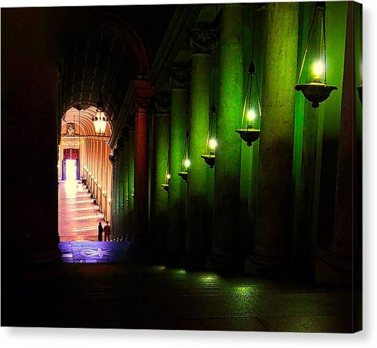 Canvas Print - Vatican Hall by Charles Schaefer