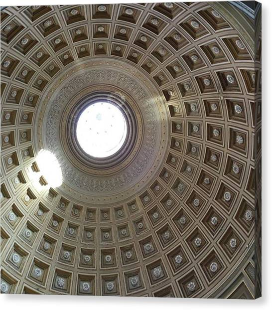 The Vatican Museum Canvas Print - Vatican Museum by Christine Chin-Fook