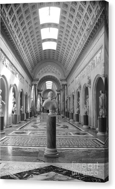The Metropolitan Museum Of Art Canvas Print - Vatican Museums Gallery by Stefano Senise