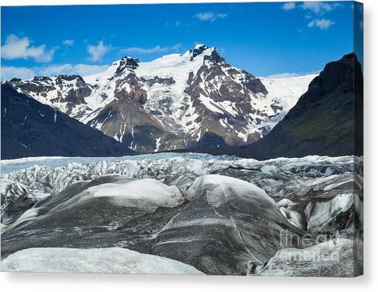 Vatnajokull Glacier Canvas Print - Vatnajokull Glacier II by Stuart Gordon