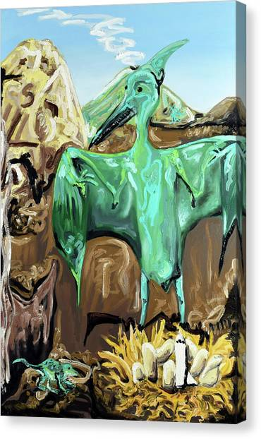 Vega Canvas Print