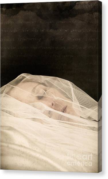 Veiled Canvas Print