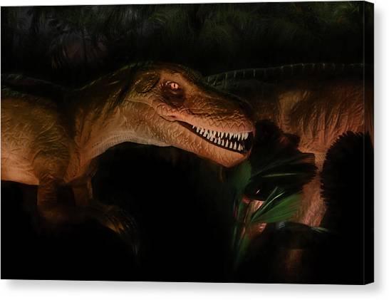 Velociraptor Canvas Print - Velociraptor by Lori Deiter