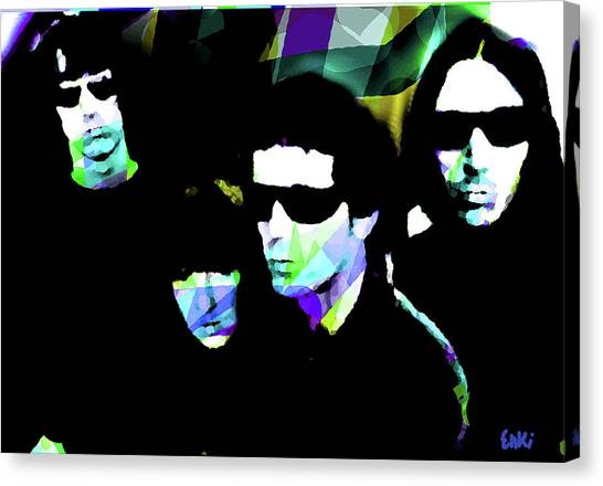 Trainspotting Canvas Print - Velvet Underground By Enki  by Enki Art