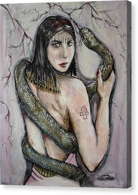 Venemous Snakes Canvas Print - Venema by Rana King