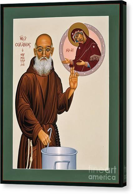 Venerable Fr. Solanus Casey The Healer 038 Canvas Print