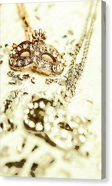 Masquerade Canvas Print - Venetian Crystal Style by Jorgo Photography - Wall Art Gallery