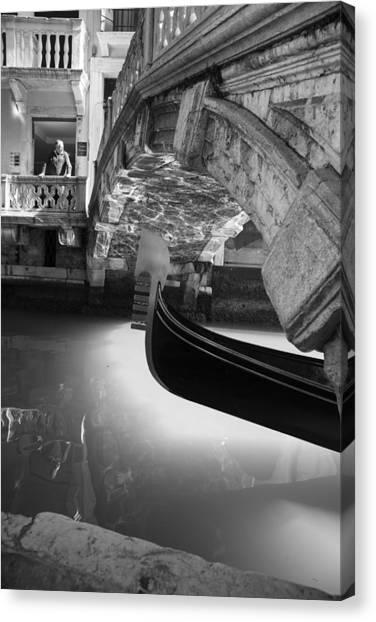 Venetian Daily Scene Canvas Print