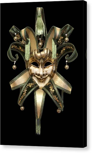 Venetian Mask Canvas Print
