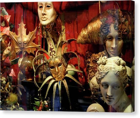 Venetian Masks Canvas Print