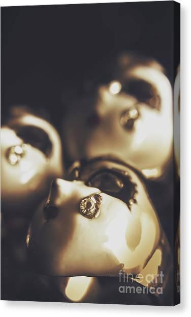 Masquerade Canvas Print - Venetian Masquerade Mask Rings by Jorgo Photography - Wall Art Gallery
