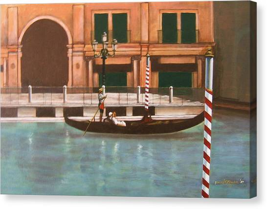 Venetian Number Two Canvas Print by Howard Stroman