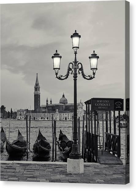 Venetian Streetlamp Canvas Print