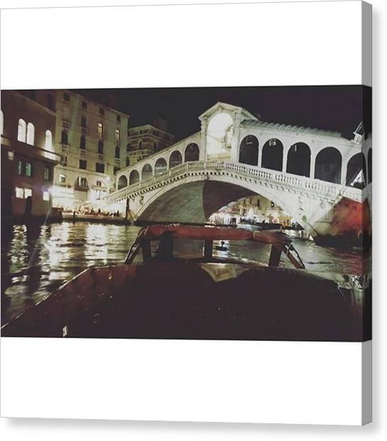 Yen Canvas Print - #venezia #bynight by Yen Ong
