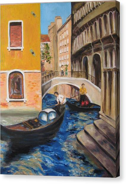 Venice Afternoon Canvas Print