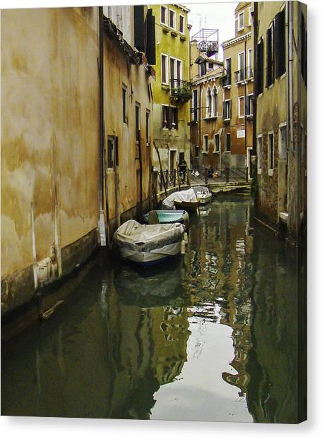 Venice Backroad Canvas Print
