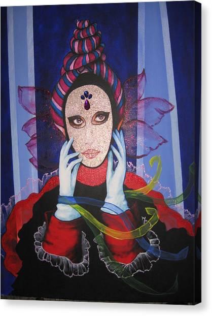 Venice Carnival 3 Canvas Print