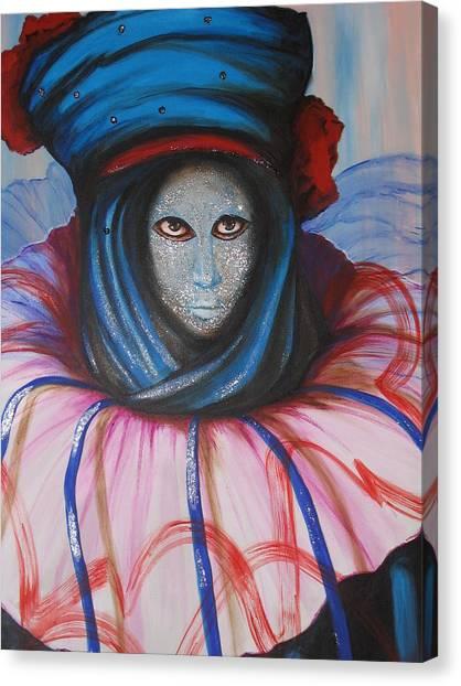 Venice Carnival 5 Canvas Print