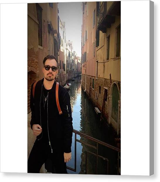 venice. Finally Made It :) Canvas Print by Dustin Belt
