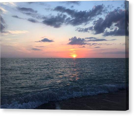 Canvas Print - Venice Florida Sunset by Julia Breheny