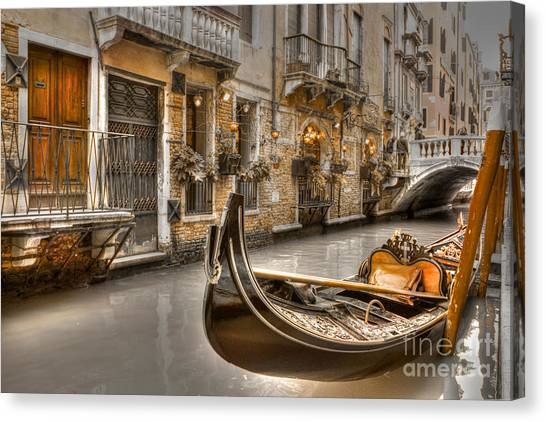 Venice Gold Canvas Print