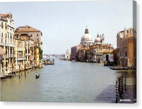 Venice Grand Canal Canvas Print by Al Blackford
