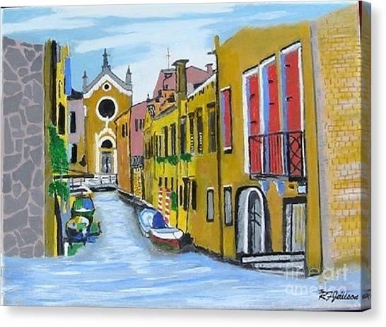Venice In September Canvas Print