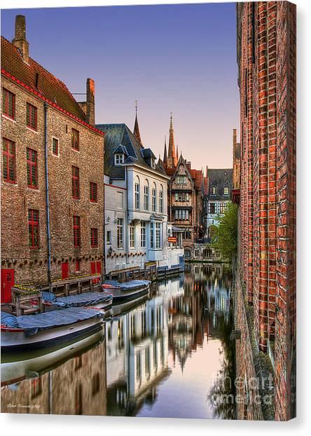 Venice Of The North Canvas Print